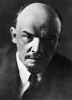 Communist Russia Photograph - Lenin by Russian School