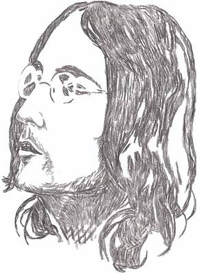 Starkey Drawing - Lennon A Soap Impression by Irakli Jorjadze