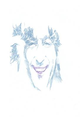 George Harrison Art Drawing - Lennon Ask Me Why by Irakli Jorjadze