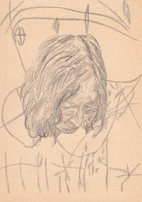 George Harrison Art Drawing - Lennon Dear Prudence by Irakli Jorjadze
