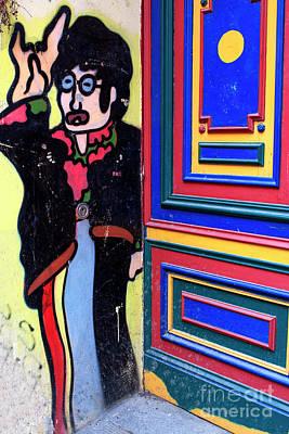 Lennon In Berlin Art Print by John Rizzuto