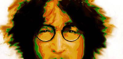 Lennon Painting  Art Print