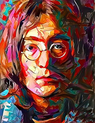 Painting - Lennon by Paul Van Scott