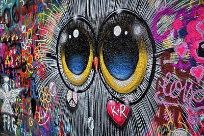 Photograph - Lennon Wall Graffiti #2 - Prague by Stuart Litoff