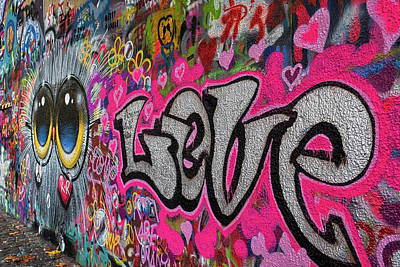 Photograph - Lennon Wall Graffiti - Prague by Stuart Litoff