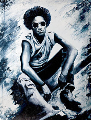 Lenny Kravitz Original by Jocelyn Passeron