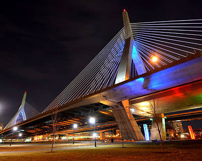 Photograph - Lenny Zakim Bridge by Toby McGuire