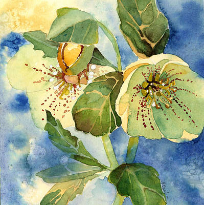 Painting - Lenten Rose by Casey Shannon