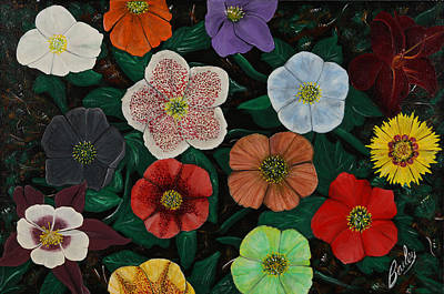 Painting - Lenten Roses by Bill Bailey