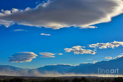 Photograph - Lenticular Arrival by Angela J Wright