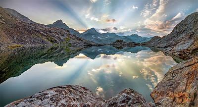 Photograph - Lenticular Rays Reflection by Leland D Howard