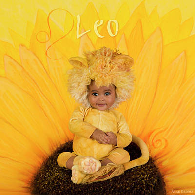 Leo Photograph - Leo by Anne Geddes