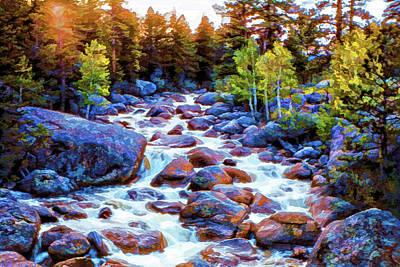 Photograph - Leo Falls by Dave Luebbert