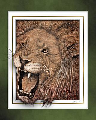 Leo Art Print by Jim Turner