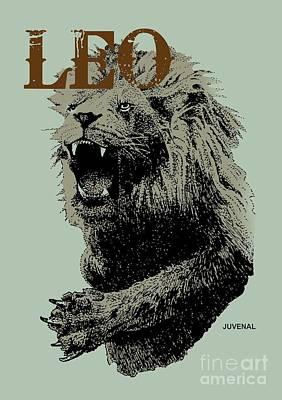 Drawing - Leo Artist by Joseph Juvenal