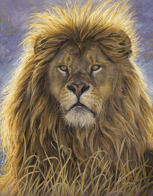 Painting - Leo by Lucie Bilodeau