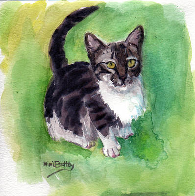 Painting - Leo by Mimi Boothby