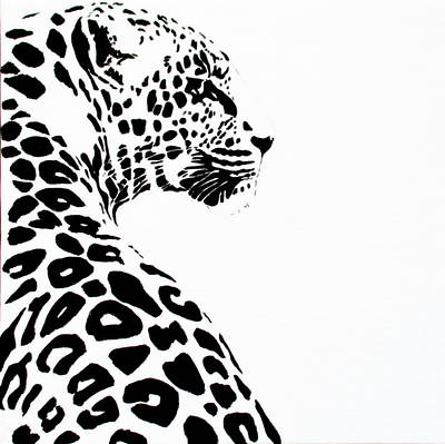 Painting - Leo-pard by Tracey Armstrong
