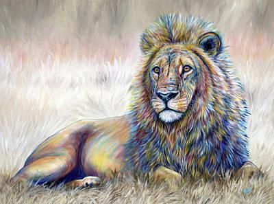 Painting - Leo by Teshia Art