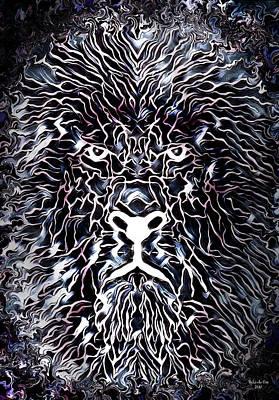 Digital Art - Leo The Lion by Artful Oasis