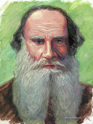 Leo Tolstoy Original by Steve Simon
