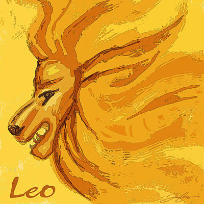Painting - Leo by Tony Franza