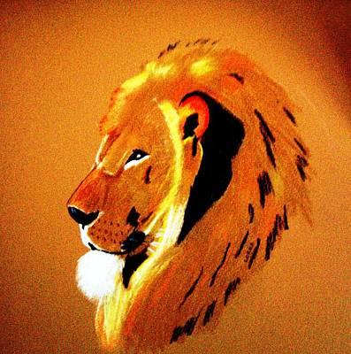Leo2 Art Print