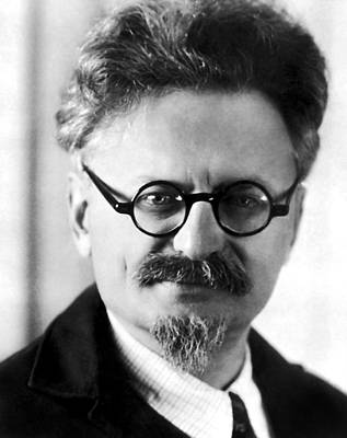 Bronstein Wall Art - Photograph - Leon Trotsky Portrait by War Is Hell Store