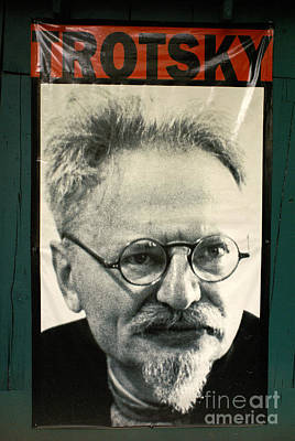 Photograph - Leon Trotsky Poster Mexico City by John  Mitchell