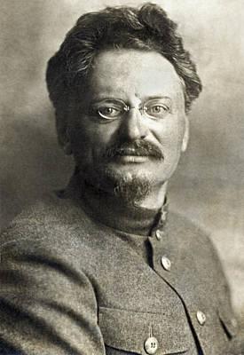 Leon Trotsky Art Print by Underwood Archives