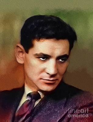 Musician Royalty-Free and Rights-Managed Images - Leonard Bernstein, Famous Composer by John Springfield