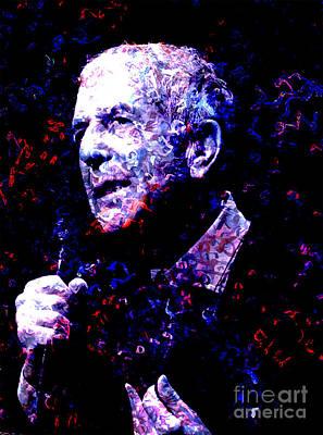 Leonard Cohen Art Print by Tammera Malicki-Wong