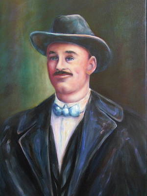 Painting - Leonard Mckay by Shannon Grissom