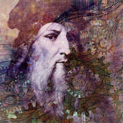 Digital Art - Leonardo by Barbara Berney