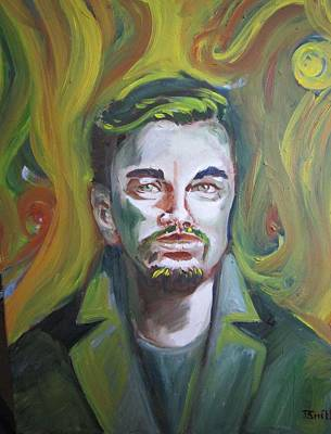 Painting - Leonardo Di Caprio by Teresa Smith