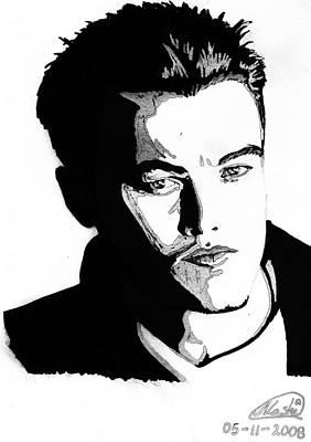 Leonardo Dicaprio Portrait Art Print by Alban Dizdari