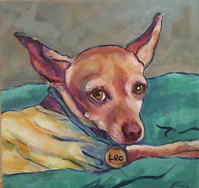 Painting - Leonardo Dipoocheo by Judy Rogan