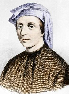 Leonardo Fibonacci, Italian Art Print by Science Source