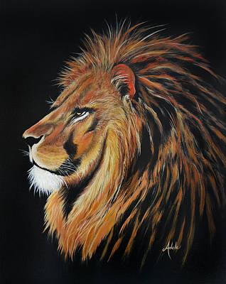 Painting - Leonardo Lion by Adele Moscaritolo