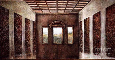 Painting - Leonardo's Upper Room  by Hazel Holland