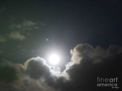 Photograph - Leonian Full Moon by Leanne Seymour