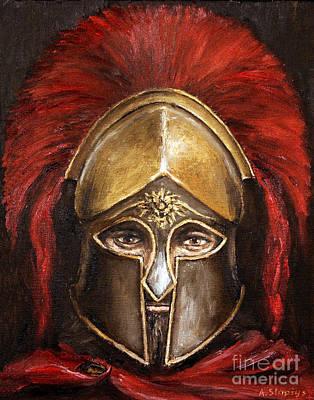 Leonidas Art Print by Arturas Slapsys