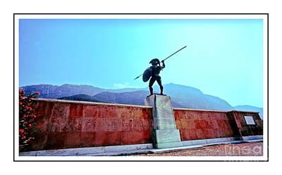 Leonidas At Thermopylae Ver 7 Art Print