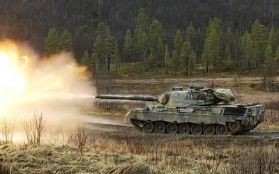 Transportation Digital Art - Leopard 1 by Maye Loeser