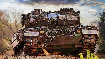 Photograph - Leopard 2 Battle Tank by Herb Paynter