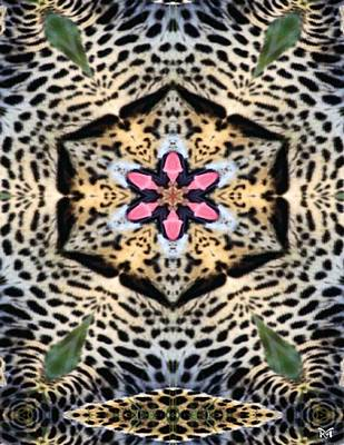 Digital Art - Leopard Blossom by Maria Watt