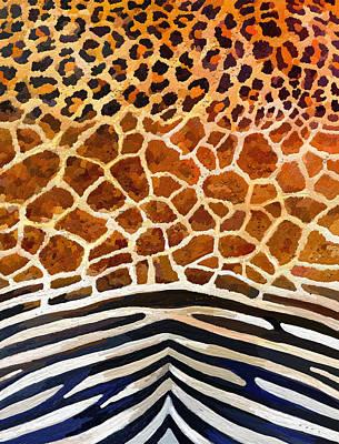 Leopard Giraffe Zebra Original