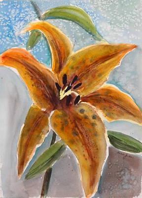Leopard Lily Art Print