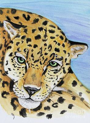 Painting - Leopard by Lorah Tout