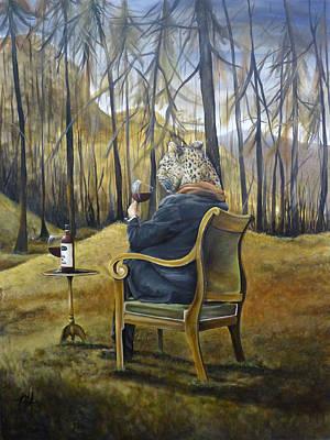 Leopard Man Art Print